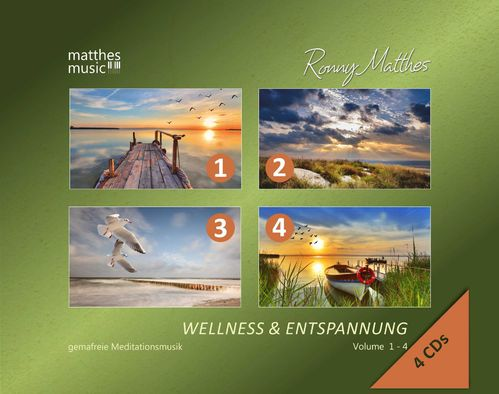 Wellness & Entspannung (Vol. 1 - 4) - Meditationsmusik