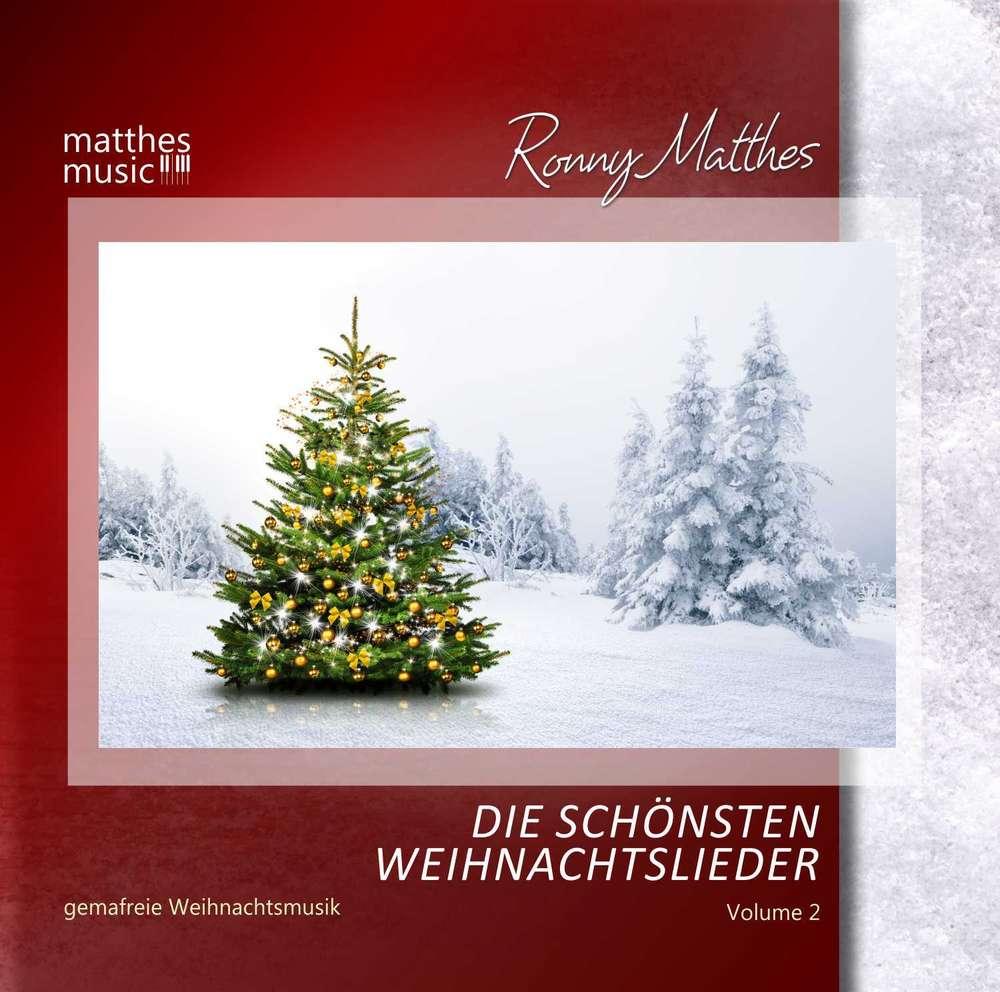 Die schönsten Weihnachtslieder (2) - Gemafreie Weihnachtsmusik CD