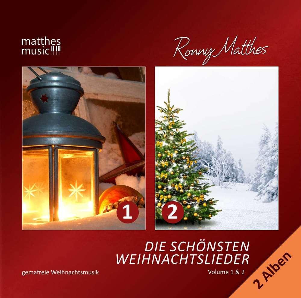 Die schönsten Weihnachtslieder (Vol. 1 & 2) - instrumental CD+MP3