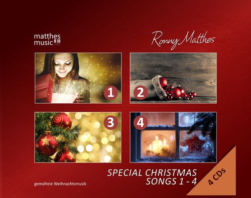 Special Christmas Songs, Vol. 1 - 4 (4 CDs Multi-Box)