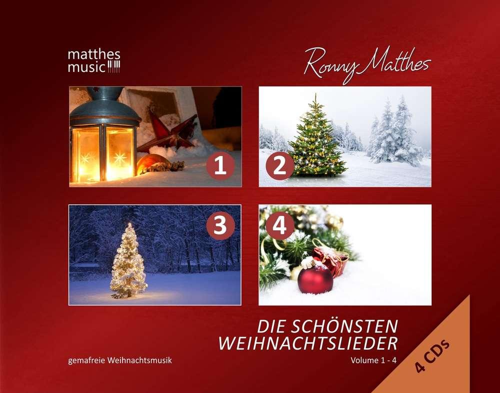 Die schönsten Weihnachtslieder, Vol. 1 - 4 (4-CD Multi Box); MP3